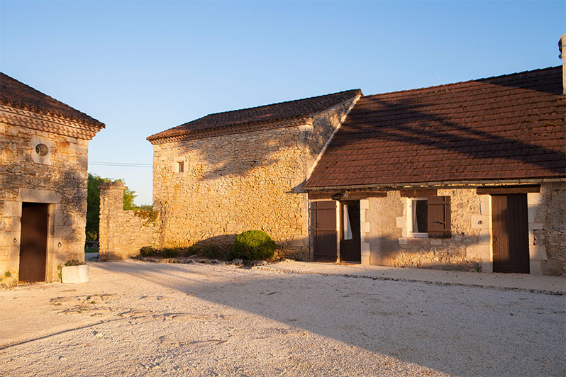 Vakantiehuis dordogne cottage i chateau lagut - Opklapbaar bedplafond ...